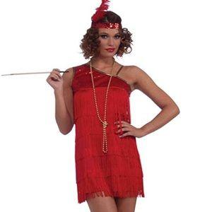 New flapper girl costume